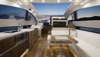 Motor yacht SERENITY - Salon with open top